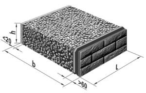 Размеры керамзитобетонных блоков