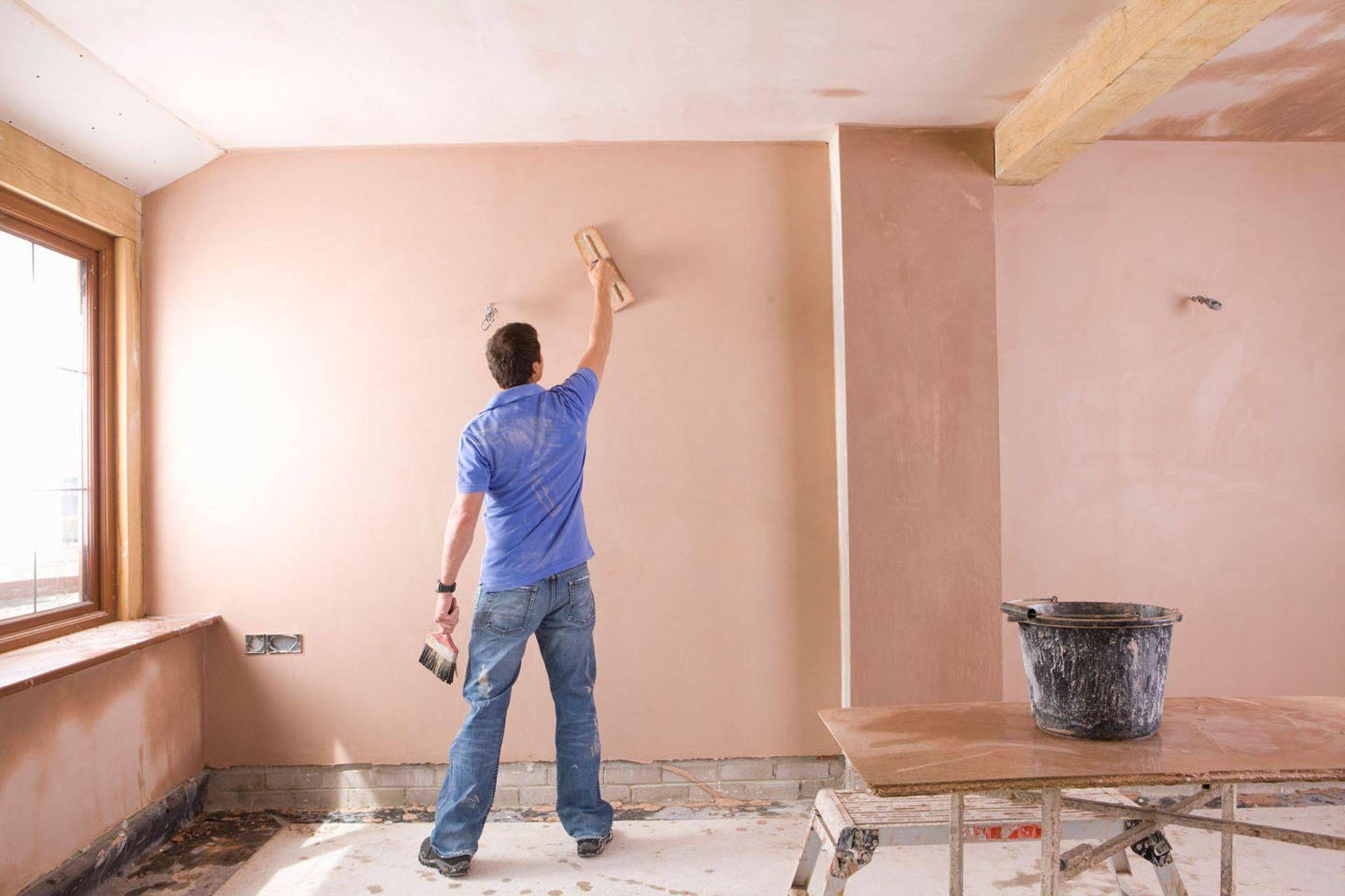 Финишное оштукатуривание стен своими руками 64