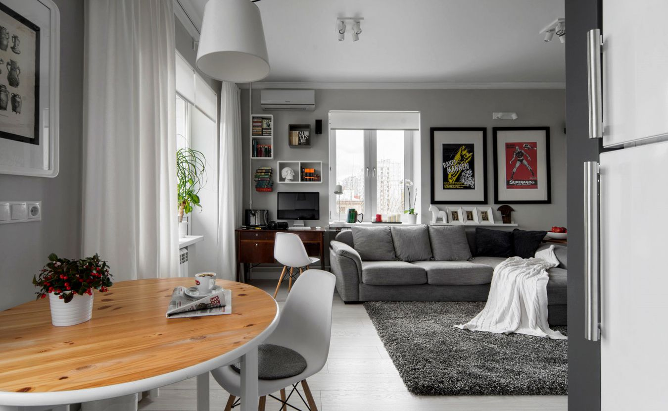 Фото дизайн квартиры студии 2017-2018 современные идеи