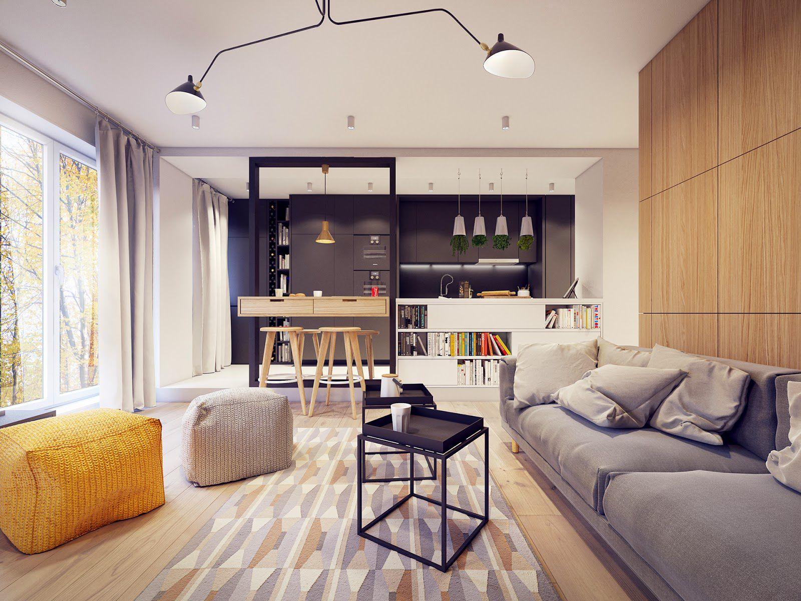 Дизайна интерьера квартир в современном стиле