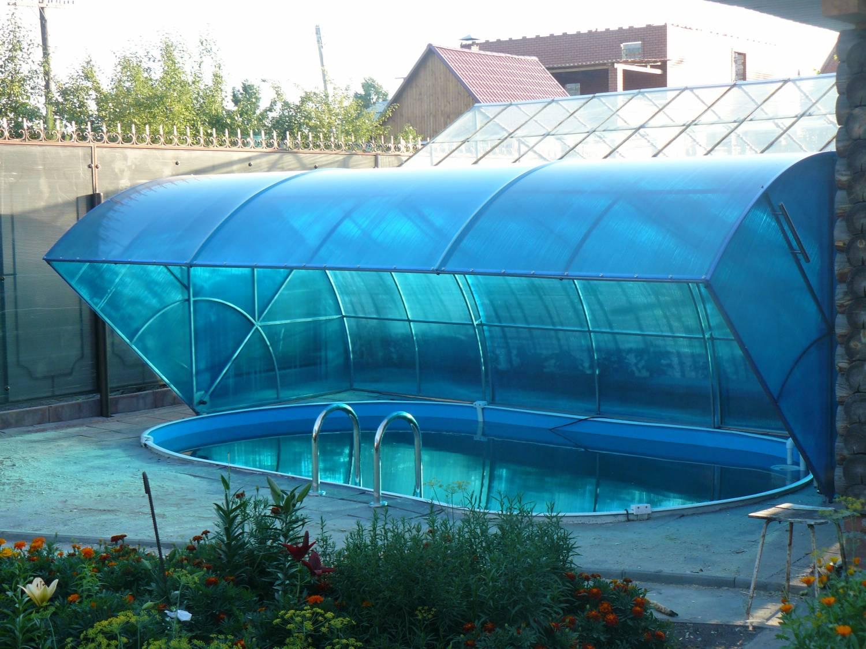 Тент над бассейном