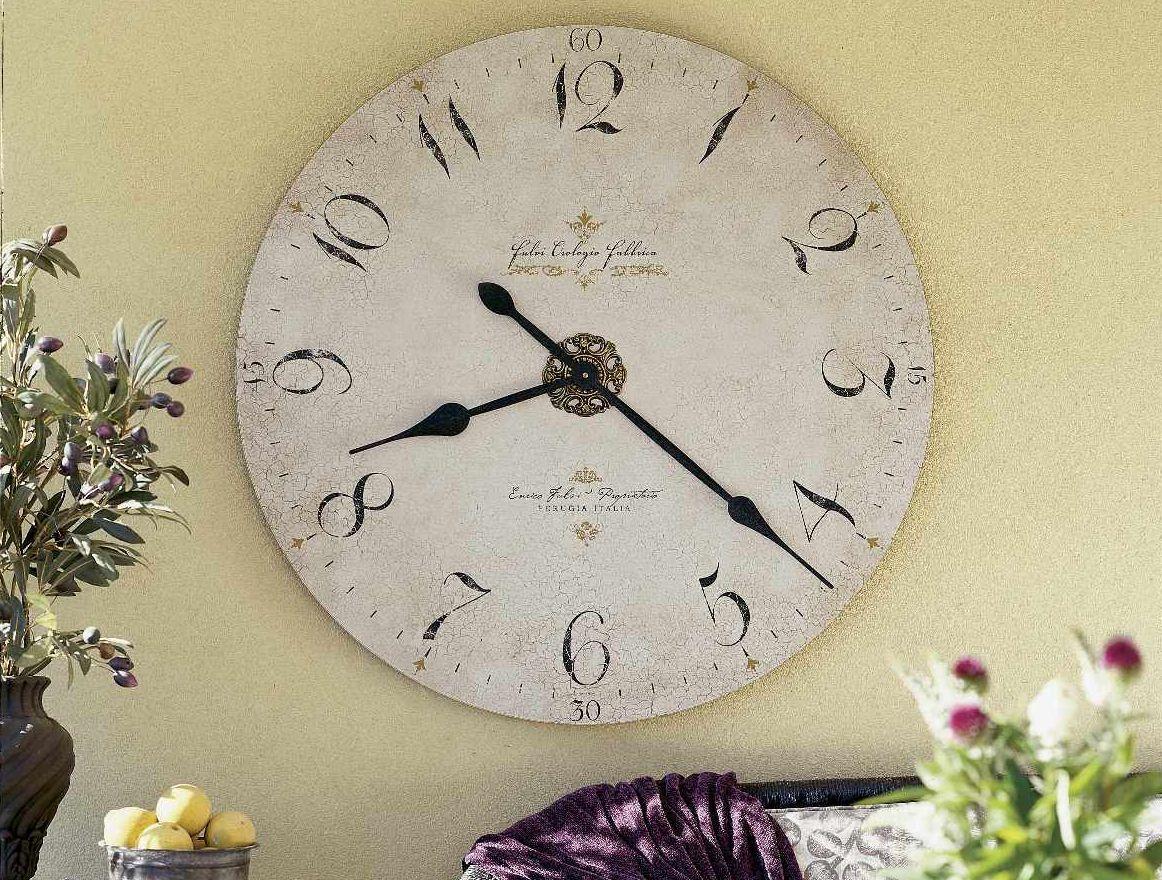 Часы для гостиной своими руками 7