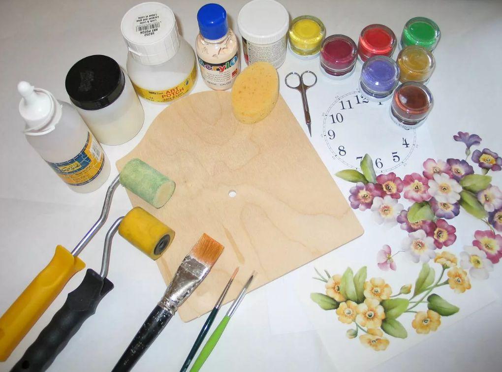 Краски для декора мастер класс