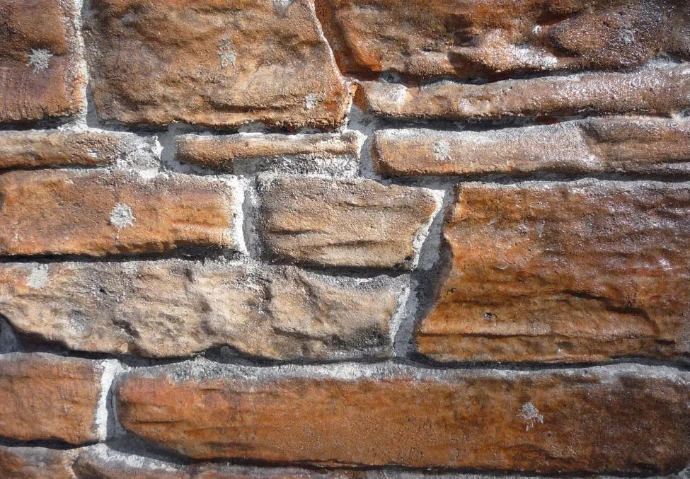 Имитация камня на стене своими руками из штукатурки 57