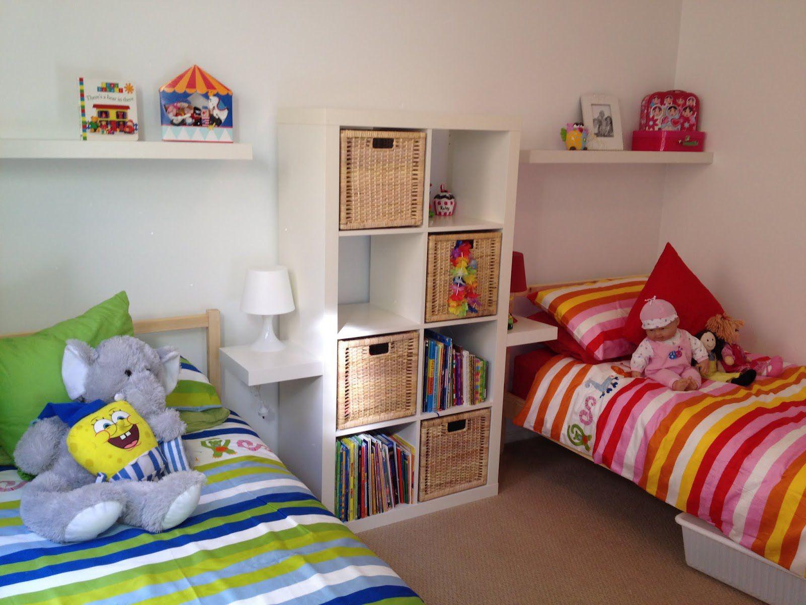 Дизайн детской комнаты для девочки и мальчика вместе фото идеи