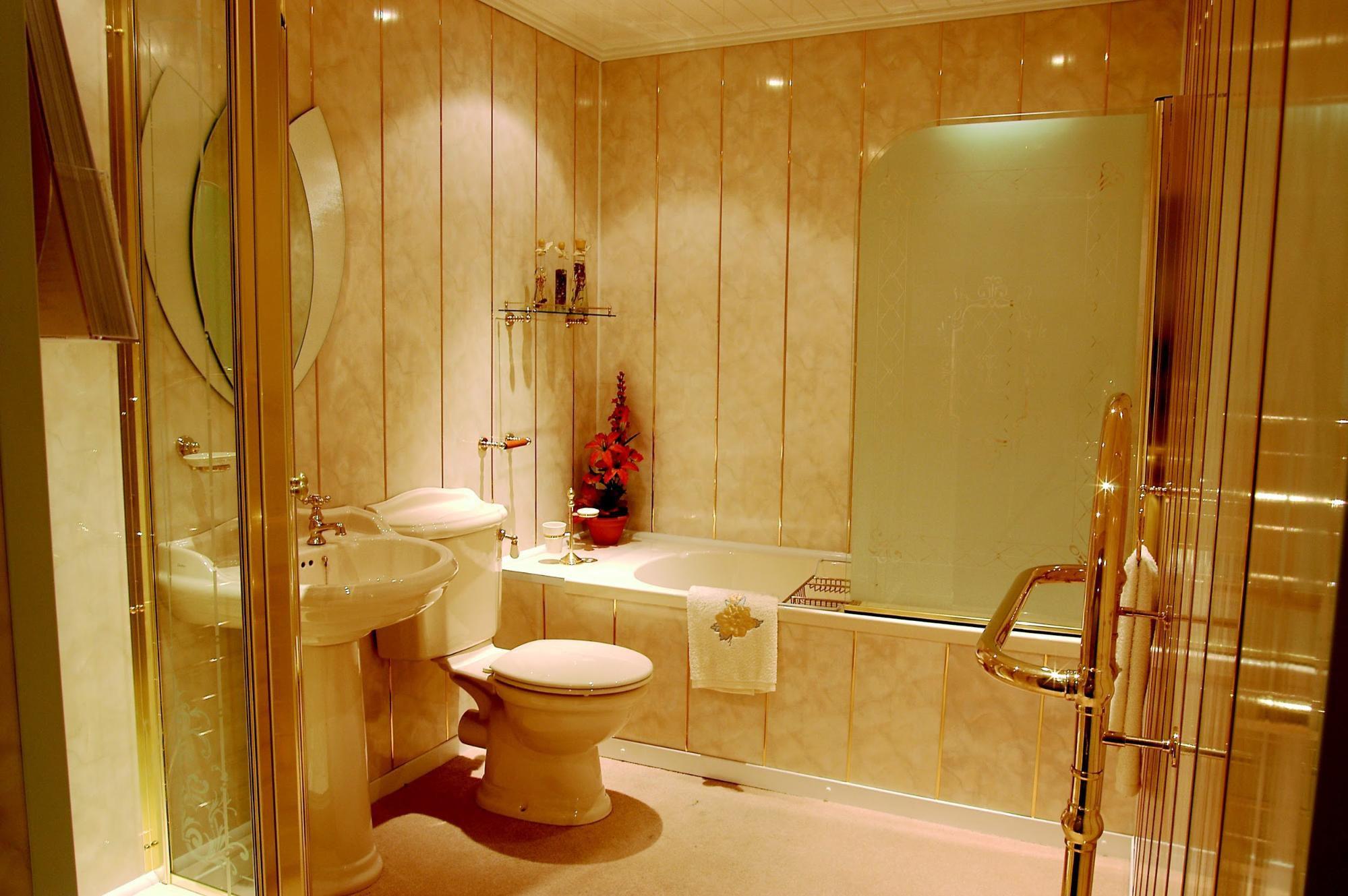 Как сделать ванную панелями пвх