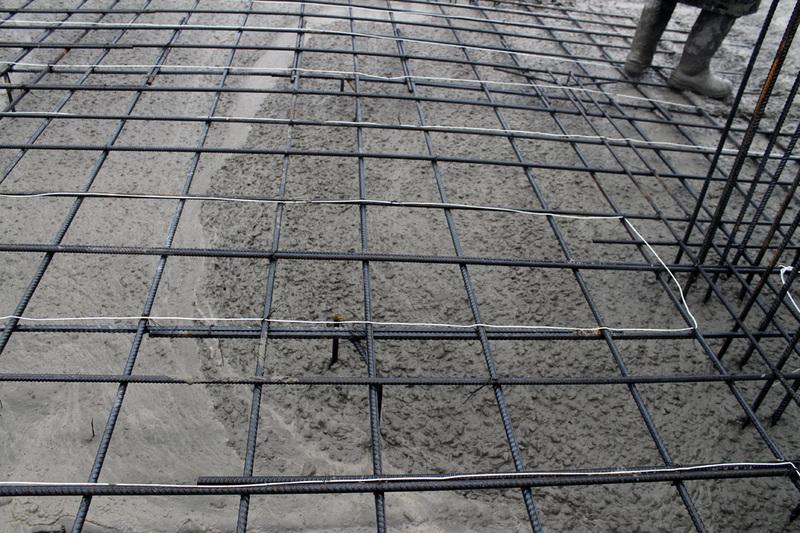 обогрев бетона в зимнее время проводами
