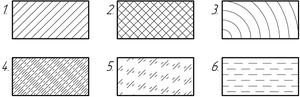 Обозначение штриховка бетона купить бетон светлогорск