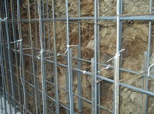Укладка провода пнсв для прогрева бетона
