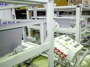 Автоматизированная линия автоклавного производства
