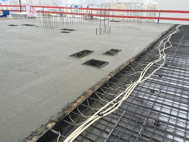 электропрогрев бетона технология