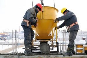 Схватывание бетона при низких температурах по дням