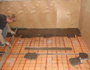 Чем лучше всего утеплять бетонный пол