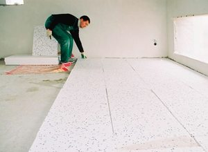 Способы утепления бетонного пола