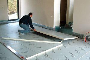 Чем лучше утеплить бетонный пол
