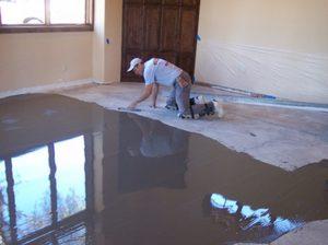 Как заливаются бетонные полы