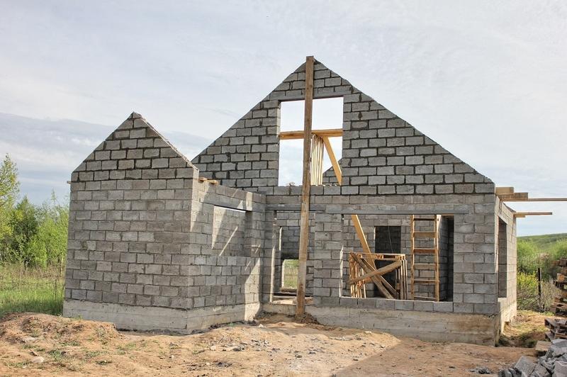 Можно ли строить баню из керамзитобетонных блоков