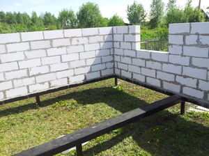 Установка стен