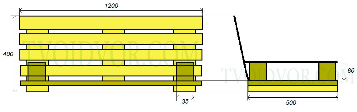 подробный чертеж