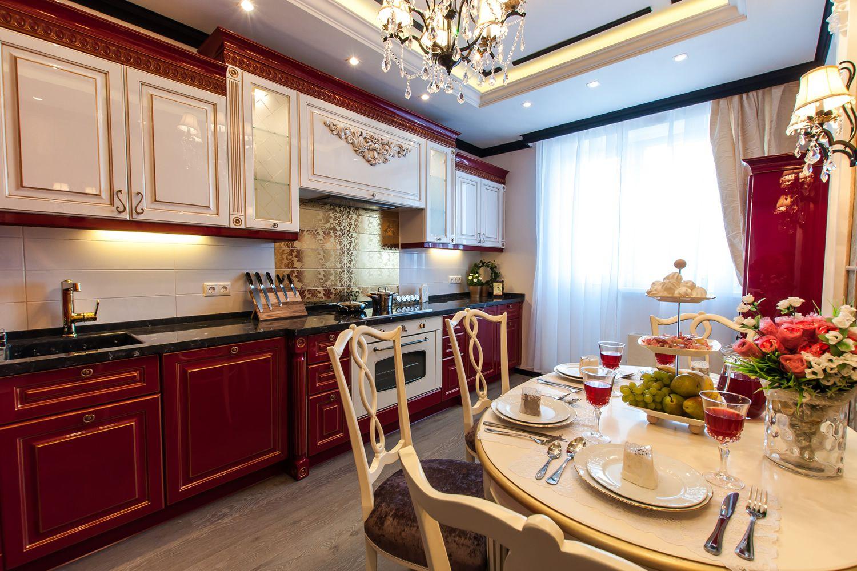 Картинки оформление кухни в квартире