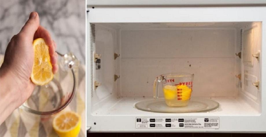 Как отмыть микроволновку внутри, 5 способов