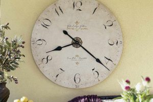 Большие оригинальные настенные часы для гостиной – фото, характеристики и ТОП 6 интересных вариантов