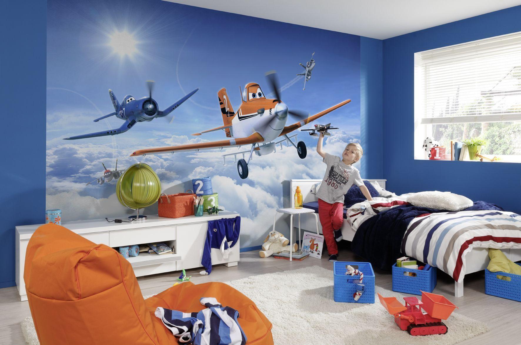 Обои для детской комнаты: для девочек, мальчиков, подростков и разнополых детей. Фото 70 идей!