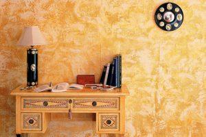 Декоративная штукатурка в интерьере – 101 фото на кухне, в прихожей, в ванной, на балконе и в спальне