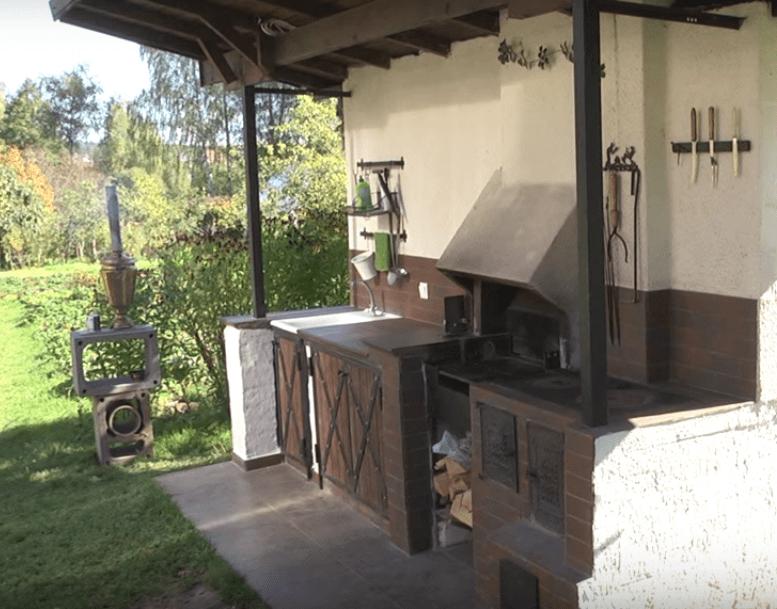Барбекю для дачи мастер класс барбекю в саду фото