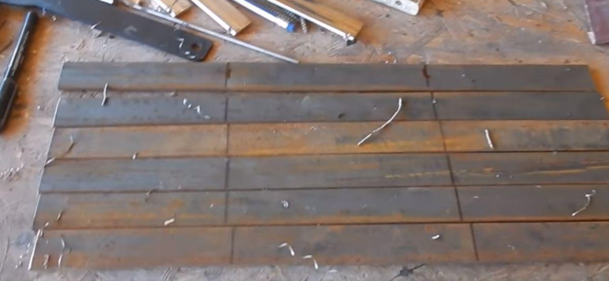 стальные заготовки длинной 450мм