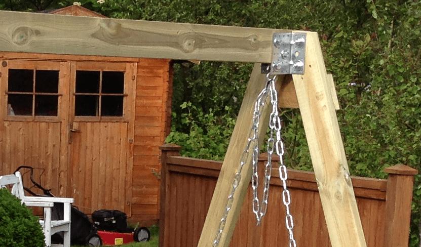 Делаем вертикальные столбы-опоры