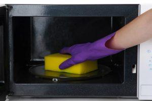 Быстрый способ как очистить микроволновку от жира внутри в домашних условиях за 5 минут – ТОП 6 методов, важные правила, фото и видео
