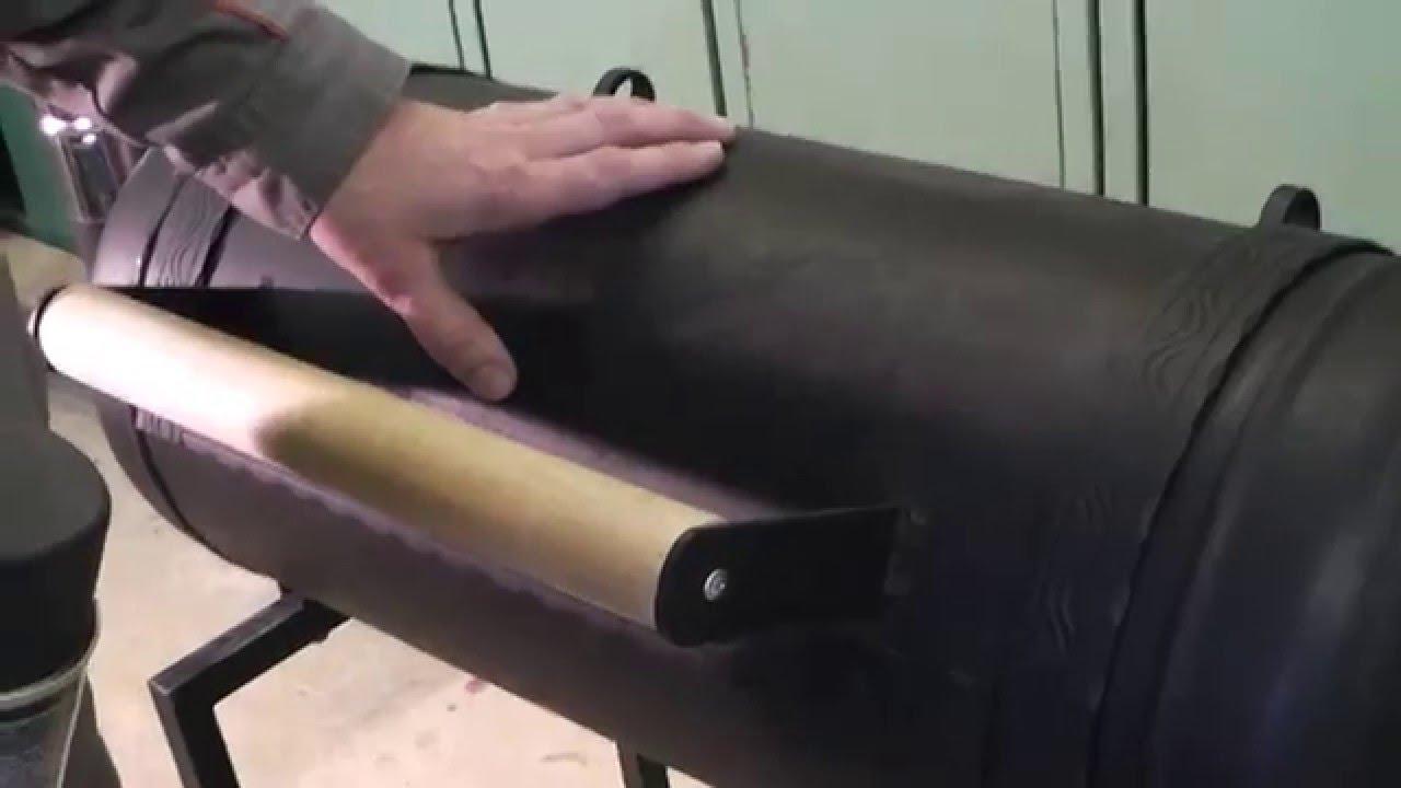 Привариваем ручку