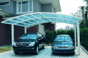 Навес для двух автомобилей для дачи: пошаговая инструкция