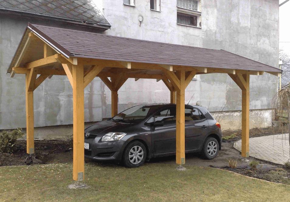 Как самому сделать навес над машиной на участке
