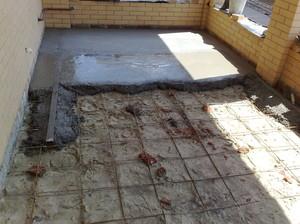 Стяжка бетонного пола своими руками